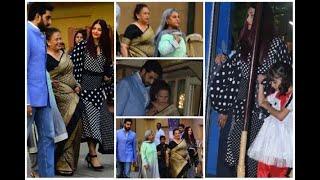 In Graphics: Aishwarya Rai Bachchan, Abhishek Bachchan and Jaya Bachchan attend Aaradhya B - ABPNEWSTV