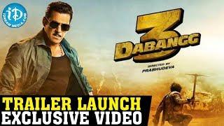 Dabangg 3 Movie Trailer Launch LIVE || Salman Khan || Prabhudev || iDream Filmnagar - IDREAMMOVIES
