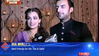 Dia Mirza officially hitched! - TIMESNOWONLINE