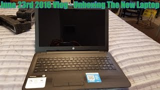 The HP 15-ba079dx Notebook Unboxing
