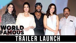 World Famous Lover Movie Trailer Launch | Vijay Devarakonda | Raashi Khanna - RAJSHRITELUGU