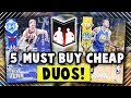 5 CHEAP DYNAMIC DUOS THAT YOU NEED TO BUY IN NBA 2K18 MyTEAM!!