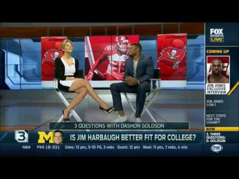 Charissa Thompson Fox Sports Live Countdown (Legs Crossed)