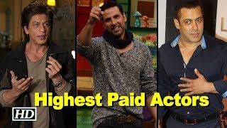 Shah Rukh, Salman & Akshay in World's Highest Paid Actors list - BOLLYWOODCOUNTRY