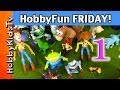 HobbyFun FRIDAY Part 1: Toy Story 3, Buzz, Woody, Rex, Zurg by HobbyKidsTV