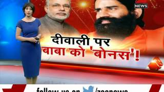 Ramdev participates in PM Modi's Cleanliness drive - ZEENEWS