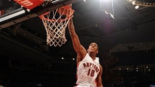 DeMar DeRozan Crushes The One-Hand Dunk In Traffic