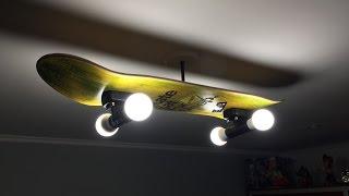 Una lampara de Skate para mi hijo