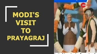 Watch Zee News report on PM Modi's visit to Prayagraj - ZEENEWS