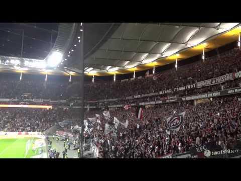 Eintracht Frankfurt - 1. FC Köln | 04.10.2014 | Support