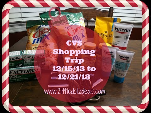 CVS Shopping Trip Using Coupons ECB Deals 12/15/13 to 12/21/13