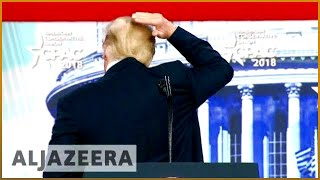 🇺🇸 Trump speaks to conservatives in CPAC conference - ALJAZEERAENGLISH