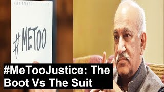 #MeTooJustice: The Boot Vs The Suit, Who'll be the judge & fury? | Nation at 9 - NEWSXLIVE