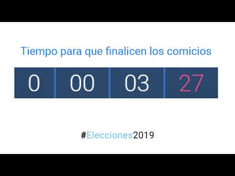 Cuenta atrás - Elecciones en Santa Fe