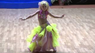 Angelina Galushkina  Fiesta Dance '13.