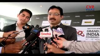 All Set to Powerboat Racing in Krishna River | World Championship | Andhra Pradesh | CVR NEWS - CVRNEWSOFFICIAL