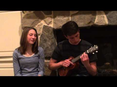 Somewhere Over the Rainbow Cover by Robbie Corbin (Ukulele) & Karlee Grudi (Singing)