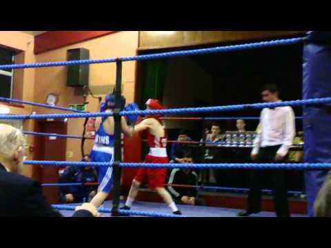 Kori Lewis of Trostre Boxing ABC Fightin on 14th Feb 2014