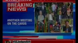 Crucial meeting held this morning; CJI meets all 4 dissenting judges - NEWSXLIVE