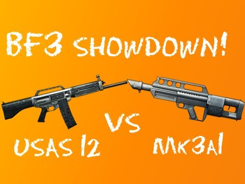 BF3 Showdown - USAS 12 vs MK3A1 Jackhammer