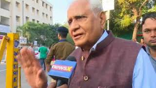 Decision Gujarat: Somabhai Modi casts his vote and speaks to NewsX on Gujarat elections - NEWSXLIVE