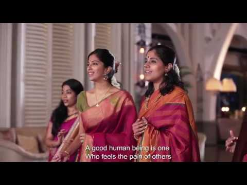 Vaishnav Jan toh - Sung by vocal artists from Singapore with Subtitle