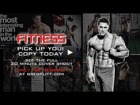 Greg Plitt - 2 day Shoot in 2 different cities & Arnold Classic LIVE InsideFitness Cover