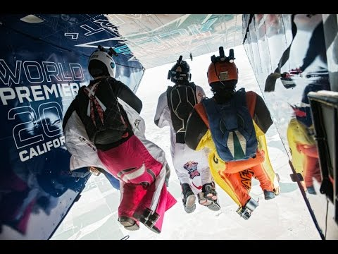 Head to Head Wingsuit Racing - Red Bull Aces 2014