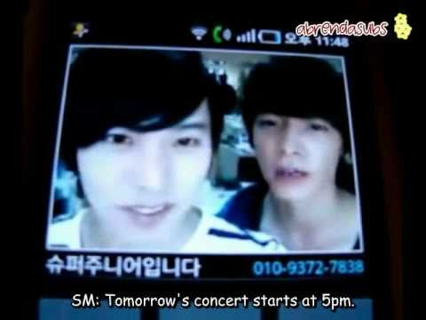 [ENG SUB/110212] UFO Star Call - Sungmin With Donghae