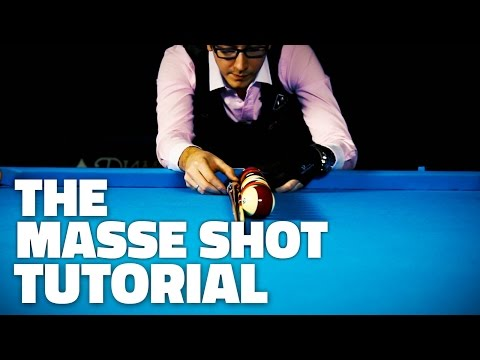 Billiard Tutorials | The Masse Shot