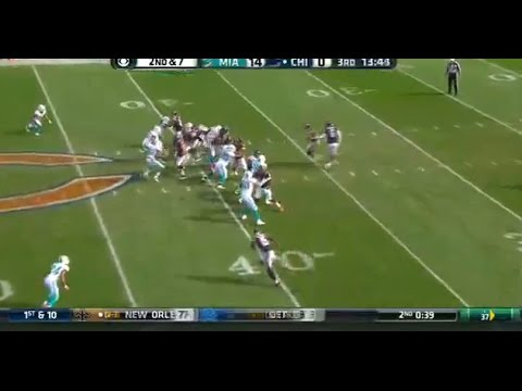Miami Dolphins vs  Chicago Bears Dolphins offense
