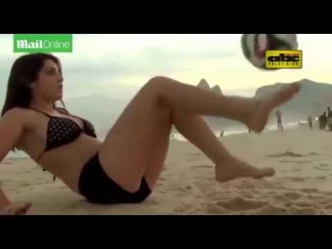 La modelo argentina que desafía a Messi en picaditas