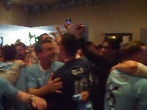 Man city 3 QPR 2    crowd reaction