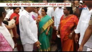 Nara Bhuvaneswari Visits Adopted Komaravolu Village in Krishna District | CVR NEWS - CVRNEWSOFFICIAL