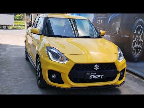 Suzuki Swift bản GLX 1.2AT độ Bodykit màu vàng cực thời trang