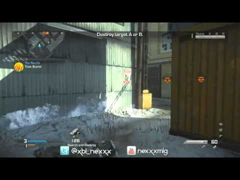 NexXx & Nadeshot 2v2 SnD CHAMPS - Final Map