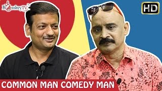 Ladies take over and then over take says Mr Virupakshan | Common Man Comedy Man | Bosskey TV