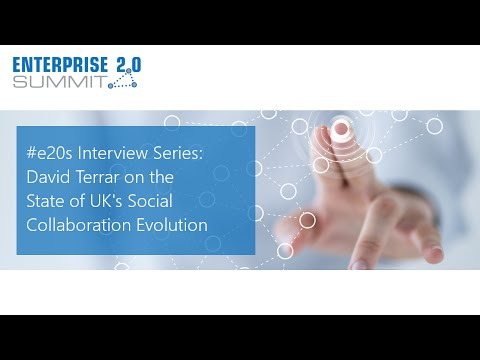 #e20s Interview Series / David Terrar
