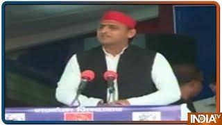 मैनपुरी की रैली में बोले Akhilesh, देश आज बहुत नाजुक दौर से गुजर रहा है - INDIATV