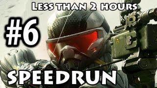 Crysis 3 - Speedrun Part 6 - Only Human [No Commentary] [Less than 2h]