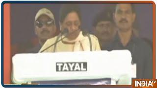 LS Polls 2019: Mayawati ने Mulayam के बाद अब Azam Khan के लिए मांगा वोट, जानें क्या कहा - INDIATV