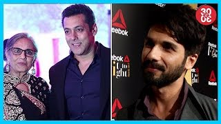 Salman Khan Celebrates Mom's Birthday Privately, Shahid Kapoor Talks About The Women In His Life - ZOOMDEKHO