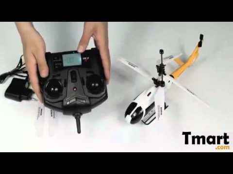 Worldwide Free Shipping - UDI U9 3 Channel 2.4GHz Remote Control RC Helicopter with Gyro