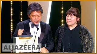 🎬 Cannes film festival: Shoplifters wins top prize | Al Jazeera English - ALJAZEERAENGLISH