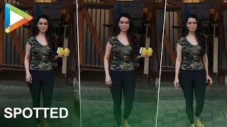 Soundarya Sharma  Spotted At Red Brick Restaurant In Mumbai - HUNGAMA