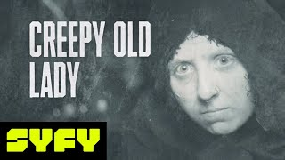 OLD LADY HALLOWEEN MAKEUP: FANTORIAL | 31 DAYS OF HALLOWEEN | SYFY - SYFY