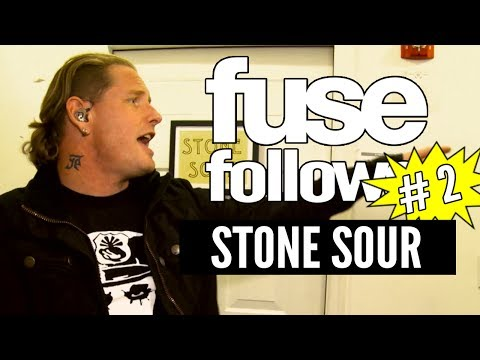 Stone Sour Soundcheck & Go Book Shopping  - Fuse Follows