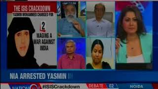 ISIS crackdown: Yasmin convicted for recruiting 15 Indians for ISIS — Nation at 9 - NEWSXLIVE