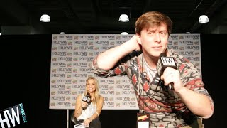 Thomas Sanders Plays HILARIOUS 'Act It Out' Game! - HOLLYWIRETV