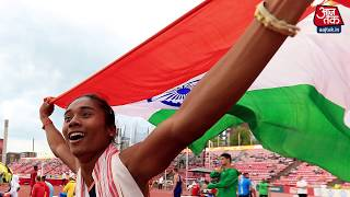हिमा दास: 'भारत की नई उड़न परी' - AAJTAKTV